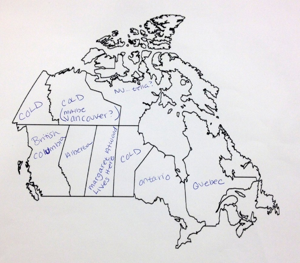 Map Of Canada No Labels.Photos Americans Have No Idea Where Manitoba Is Access Winnipeg