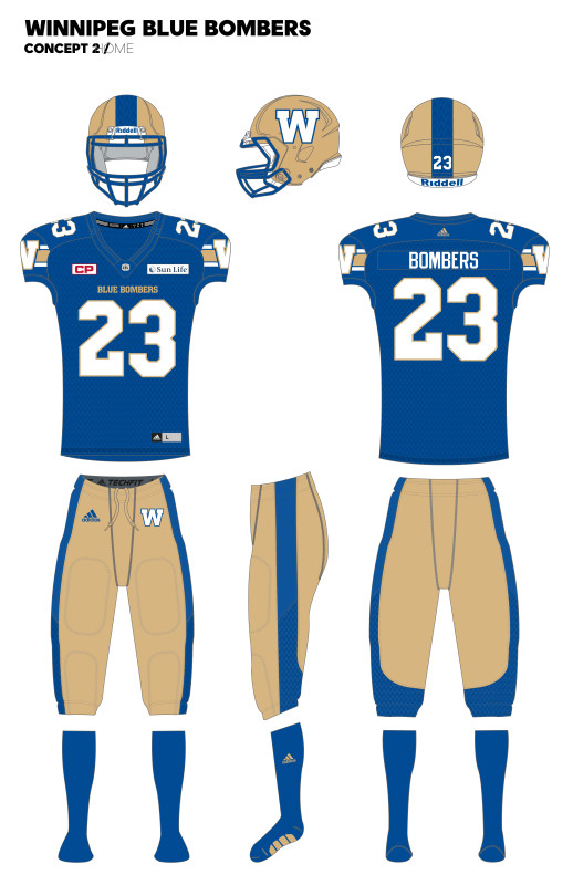 02e2e689a20 Blue Bombers Reveal New Uniforms - Access Winnipeg